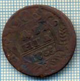621 MONEDA VECHE - RUSIA  - DENGA  -anul 1735  -starea care se vede