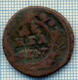 622 MONEDA VECHE - RUSIA  - DENGA  -anul 1747  -starea care se vede