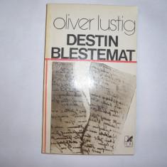 OLIVER LUSTIG - DESTIN BLESTEMAT,s3, 1980