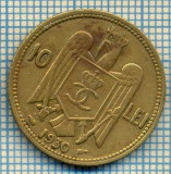 688 MONEDA VECHE - ROMANIA - 10 LEI  -anul 1930  -starea care se vede