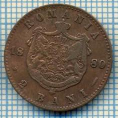 701 MONEDA VECHE - ROMANIA - 2 BANI -anul 1880 -starea care se vede - Moneda Romania