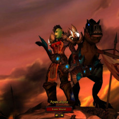 Cont World of Warcraft-Mist of Pandaria 2x90 Hunter si Shaman+Battle Net Key Generator - Joc PC Blizzard, Role playing, 16+, MMO