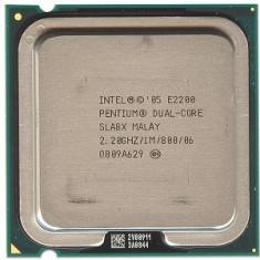 Vand Procesor LGA 775 Intel Pentium Processor E2200 (1M Cache, 2.20 GHz, 800 MHz FSB), Dual core, Tray Va rog cititi conditiile!