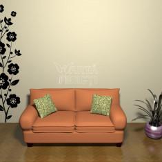 Autocolant - sticker decorativ de perete - Ghirlanda de flori 1