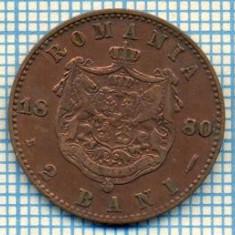 703 MONEDA VECHE - ROMANIA - 2 BANI -anul 1880 -starea care se vede - Moneda Romania