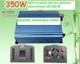 INVERTOR ON GRID 350 W PANOURI FOTOVOLTAICE - ECONOMIZOR CURENT ELECTRIC
