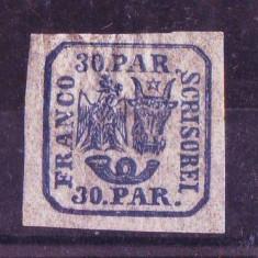 1862 L.P. 10 conditie ** - Timbre Romania