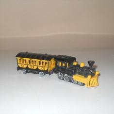 Locomotiva electrica cu vagon, scara 1:100, marca Majorette - Trenulet, Locomotive