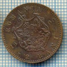 708 MONEDA VECHE - ROMANIA - 2 BANI -anul 1900 -starea care se vede - Moneda Romania
