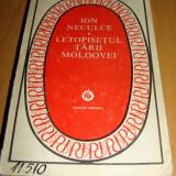 LETOPISETUL TARII MOLDOVEI - Ion Neculce - Carte Editie princeps Minerva