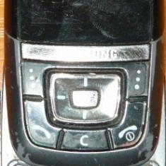 Samsung SGH D 600 - Telefon Samsung, Negru, Cu slide