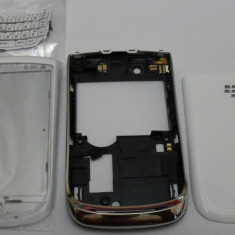 Carcasa Blackberry Torch 9800 - alb