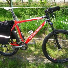 Mountain Bike Cannondale F8, 26 inch, Numar viteze: 27, Aluminiu, Rosu, MTB XC Hardtail