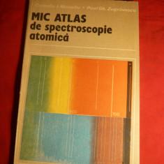 C.I.Manoliu - Mic Atlas de Spectroscopie Atomica -1990 - Carte Fizica