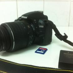 NIKON D3100 cu Obiectiv NIKON DX 18-55mm si Card de 16 Gb - Aparat Foto Nikon D3100