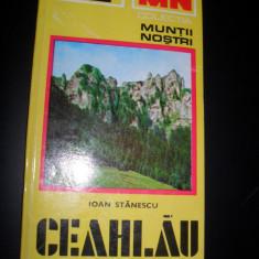 Ioan Stanescu - Ceahlau (cu harta)