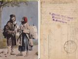 Tipuri din Romania-Tigani-cenzura WWI, WK1, Circulata, Printata