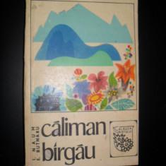 T.NAUM-CALIMAN~BARGAU/CALAUZA TURISTULUI/1969+harta