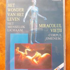 MIRACOLUL VIETII - CORPUL OMENESC, DVD . - Film documentare, Romana