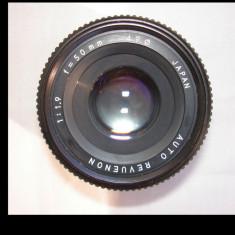 Obiectiv foto Revuenon 1, 9/50 filet de 42(in fapt un Chinon ) - Obiectiv DSLR, Standard, Manual focus
