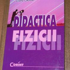 LILIANA CIASCAI - DIDACTICA FIZICII - Teste Bacalaureat
