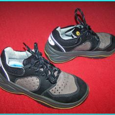Pantofi de protectie, bombeu cu insertie metalica, marca UVEX _ nr. 36 - Pantof barbat, Culoare: Bej