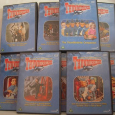 Vand set 9 dvd-Thunderbirds-originale, netraduse - Film serial Altele, Aventura, Engleza
