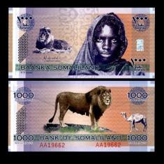 SOMALILAND 1000 SHILLINGS 2006 PERFECT UNC
