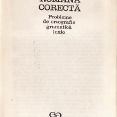 LIMBA ROMANA CORECTA. PROBLEME DE ORTOGRAFIE, GRAMATICA, LEXIC de VASILE BREBAN - Culegere Romana