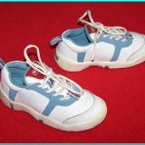 DE FIRMA → Adidasi din piele, stare foarte buna, DECATHLON Baby → copii | nr. 24