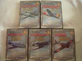 DVD 5 DVD - documentare avioane de lupta din cel de-al doilea razboi, Engleza