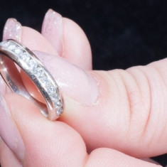 Verigheta Diamante: Diamond Anniversary Band 1/4 ct tw Round-cut 14K White Gold