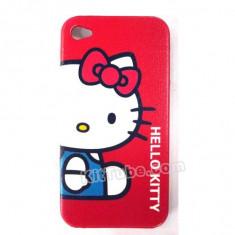 Husa protectie Hello Kitty iphone 4 4S expediere gratuita + folie protectie ecran - Husa Telefon Apple