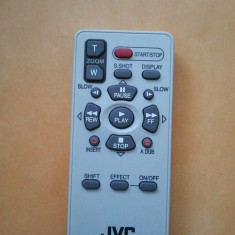 Telecomanda noua originala camera video JVC RM - V720U - Telecomanda Camera Video JVC, Cu Infrarosu