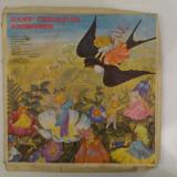 Disc vinil vinyl pick-up Electrecord HANS CHRISTIAN ANDERSEN SET 5 DISC Zana Cea Mica Lebedele Craiasa Zapezilor Privighetoarea Fetita Cu Chibriturile