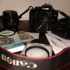 Vand aparat foto Canon EOS 450D (Rebel xsi) - Aparat foto DSLR
