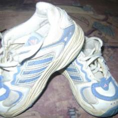 Pantofi sport marca Adidas mar. 22 - Adidasi copii, Culoare: Alb, Baieti