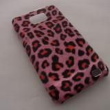 Husa animal print roz SAMSUNG GALAXY 2 i9100 + FOLIE ecran - Husa Telefon