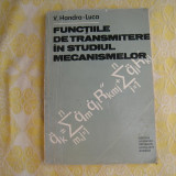 Functiile de transmitere in studiul mecanismelor Handra V - Carte de aventura