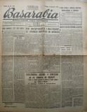 Ziarul Basarabia Duminica 3 octombrie , 1943 , Soroca , Frontul din Rasarit, Alta editura