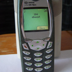 Sagem MY X-5m  my x5v decodat orice retea-  telefon simplu cu butoane