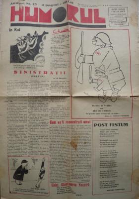 Ziarul Humorul , nr, 13 si 18 , 1945 ; ziarul Gluma , 5 Decembrie 1943 ; bonus foto
