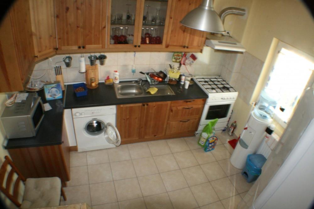 Set mobilier bucatarie ikea faktum cu blat de lemn masiv - Mobila dormitor ikea ...
