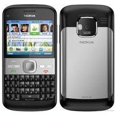 Telefon Nokia e 5 in stare excelenta, blocat in reteaua Orange - Telefon mobil Nokia E5, Negru