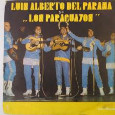 Disc vinil vinyl pick-up Electrecord LUIS ALBERTO DEL PARANA SI FORMATIA LOS PARAGUAYOS LP REISSUE EDE 094 rar vechi colectie