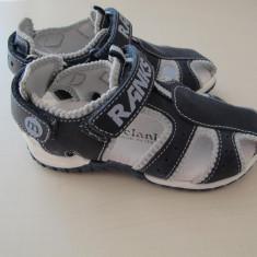 Sandale piele Melania mar.24 - Sandale copii Melania, Culoare: Albastru, Baieti, Piele naturala
