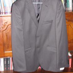 Costum Hugo Boss - Costum barbati Hugo Boss, Marime: 52, Culoare: Gri, 2 nasturi, Marime sacou: 52, 48 sau mai mare