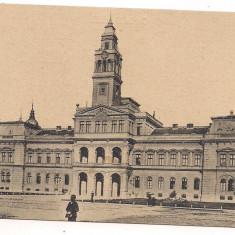 Carte postala(colectie)- ARAD -Primaria anul 1918 - Carte Postala Crisana dupa 1918, Necirculata, Fotografie