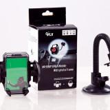 Suport auto parbriz universal iPhone 3, 3G, 3GS, 4, 4S, 5 + CADOU incarcator auto bricheta 5V / 1000 mAh