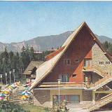 Predeal, cabana Clabucet Sosire, vedere carte postala circulata 1983